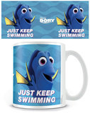 Finding Dory - Just Keep Swimming Mug Taza