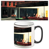 Edward Hopper - Nighthawks Mug Krus