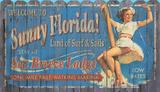 Sunny Florida Wood Sign