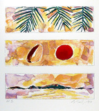 Rising Sun - Falling Coconut Sammlerdrucke von Bill Beckley