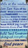 Peace at Beach Wood Sign