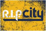R.I.P. City Distressed Navy Láminas