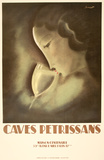 Caves Petrissans Collectable Print by Charles Loupot