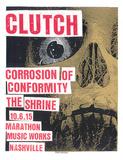 Clutch Serigraph by  Print Mafia