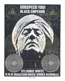 Godspeed You! Black Emperor Sérigraphie par  Print Mafia