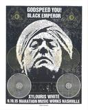 Godspeed You! Black Emperor Serigrafia tekijänä  Print Mafia