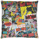 Batman - Fan Throw Pillow Throw Pillow