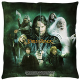 Lord Of The Rings - Hero Group Throw Pillow Throw Pillow