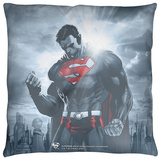 Superman - Light Of The Sun Throw Pillow Throw Pillow