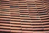 Textures, roof tiles Photographic Print by David Hosking