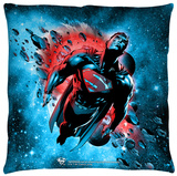 Superman - Super Cosmos Throw Pillow Throw Pillow