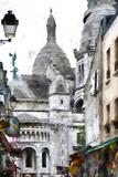 Sacre Cœur Montmartre Giclee Print by Philippe Hugonnard