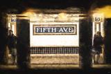 Fifth Avenue Giclée-Druck von Philippe Hugonnard