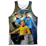Tank Top: Star Trek- Kirk Spock Mccoy Tank Top