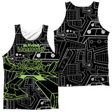 Tank Top: Dexter's Laboratory- Robot (Front/Back) Tank Top
