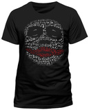 Batman The Dark Knight - Joker Laughing Profile T-Shirts
