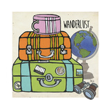 Travel-Wanderlust Affiches par Shanni Welsh