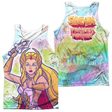 Tank Top: She Ra- Title (Front/Back) Tank Top