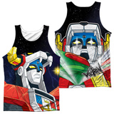 Tank Top: Voltron- Space (Front/Back) Tank Top