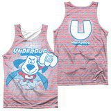 Tank Top: Underdog- Burst (Front/Back) Tank Top