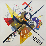 On White ll, 1923 Posters par Wassily Kandinsky