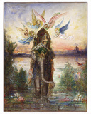 The Sacred Elephant (Péri) (1882) Prints by Gustave Moreau