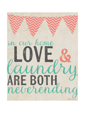 Neverending Laundry Posters par Katie Doucette