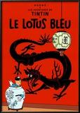 Le Lotus Bleu, c.1936 Posters by  Hergé (Georges Rémi)