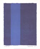 Canto VII Reproduction pour collectionneur par Barnett Newman