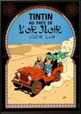Tintin au Pays de l'Or Noir, c.1950 Prints by  Hergé (Georges Rémi)