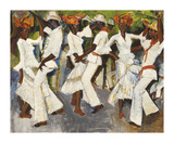 Rumba! Premium Giclee Print by Boscoe Holder
