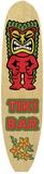 Tiki Bar Carteles metálicos