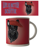 Life is Better With A Scottie Mug Mug