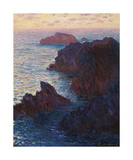Rocks at Belle-Isle, Port-Domois, 1886 Impressão giclée premium por Claude Monet