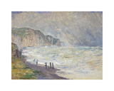 Heavy Sea at Pourville, 1897 Premium Giclee Print by Claude Monet
