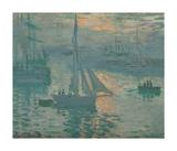 Sunrise (Marine), 1873 Impressão giclée premium por Claude Monet