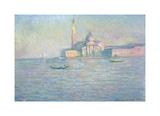 The Church of San Giorgio Maggiore, Venice, 1908 Premium Giclee Print by Claude Monet
