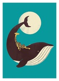 The Giraffe and The Whale Poster von Jay Fleck