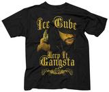 Ice Cube- Keep It Gangsta T-shirts