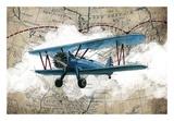 Biplane 1 Posters par  GraphINC Studio