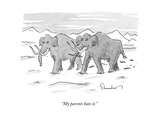 """""""My parents hate it."""" - New Yorker Cartoon Premium Giclee Print by Danny Shanahan"""