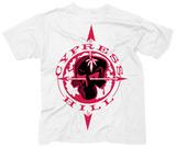 Cypress Hill- Skull & Compass Maglietta