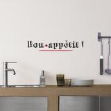 Bon appétit Autocollant mural