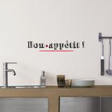 Bon appétit Wall Decal