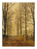 Three Hundred Years Ago Giclee Print by John Atkinson Grimshaw