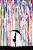 Marc Allante- Dandelion Affiche par Marc Allante