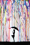 Marc Allante- Dandelion Poster por Marc Allante