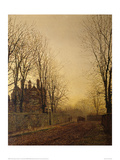 The Last Load Giclee Print by John Atkinson Grimshaw