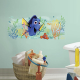 Finding Dory and Nemo Peel and Stick Giant Wall Graphic Autocollant mural