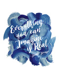 Everything You Can Imagine Poster par Amy Brinkman